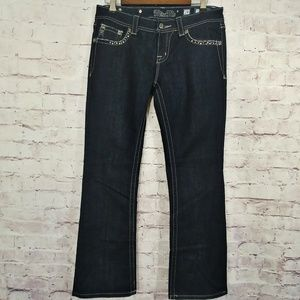 NWOT MISS ME Easy Boot Dark Wash Jeans